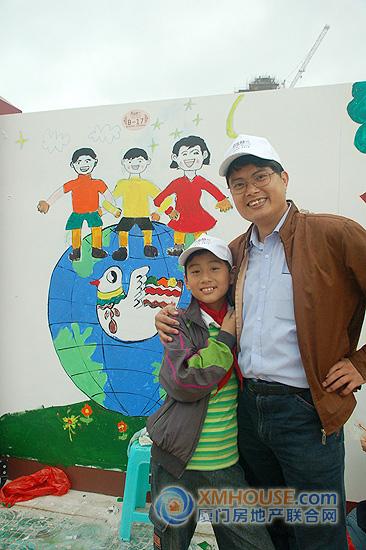 新苏格兰 绘画大赛 百名儿童共绘幸福家园