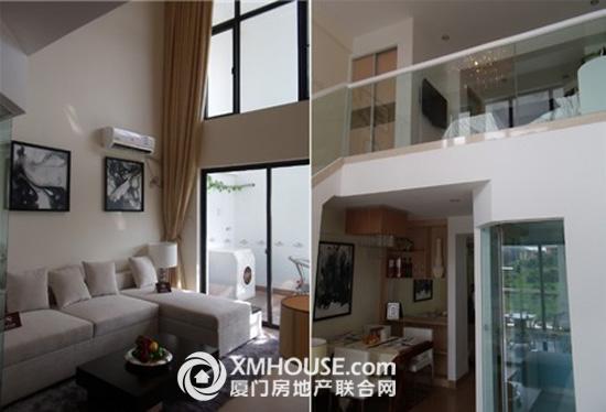 的单身公寓与76平的楼中楼