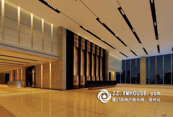 8米精装大堂,五星级酒店装修标准的电梯间