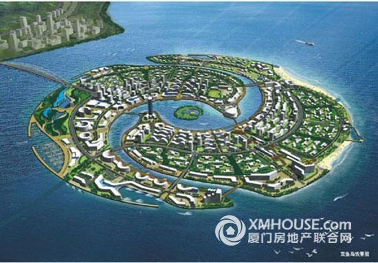 双鱼岛项目,总投资30亿元