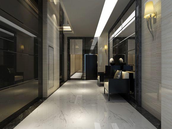 门厅效果图-荣昌 东方广场 精装入户大堂 电梯门厅将亮相