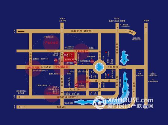 漳州长泰科目二考场平面图