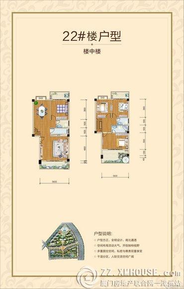 民和楼中楼室内装修平面图 楼中楼室内设计cad装修图