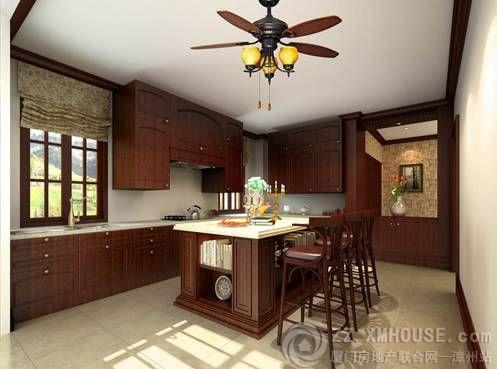 别墅半地下坐厨房