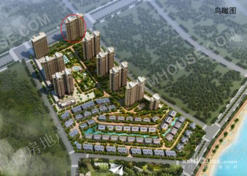 鸿源海景城:11月中旬推出首期 目前已建至4层