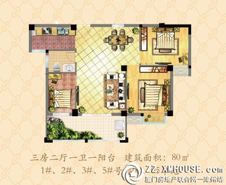 [南靖]天赐良源:80-105㎡准现房在售 均价3550元/㎡