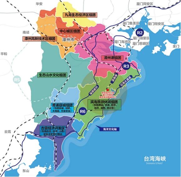 环厦门经济区域,今年从漳浦东部火了起来