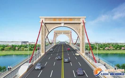 生态景观桥金浦大桥开建