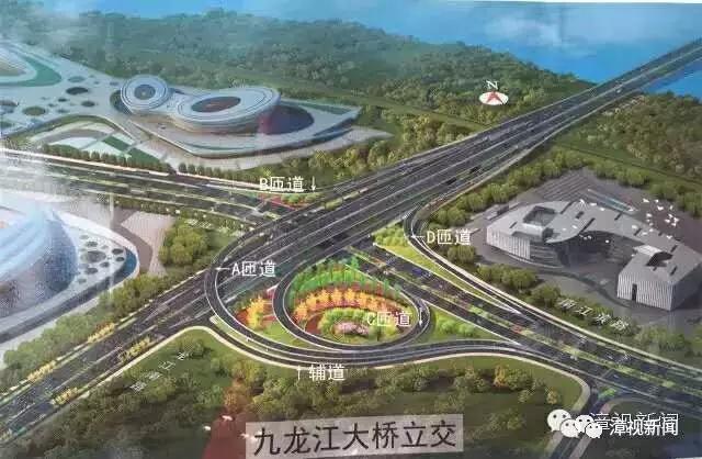 九龙江立交主体8月完工